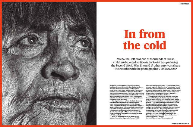 """Children of Siberia"" published in Sunday Times Magazine"